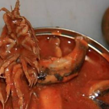 Морской таракан в консервах