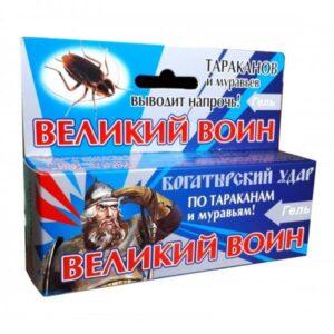 Гель от тараканов «Великий воин»