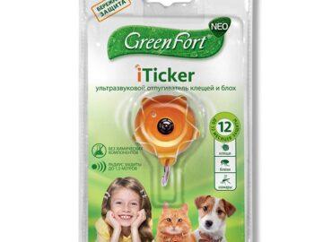 Ультразвуковой отпугиватель клещей Green Fort iTicker