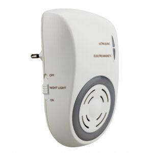 Ультразвуковой и электромагнитный отпугиватель грызунов и насекомых «ЭкоСнайпер» AN-A833