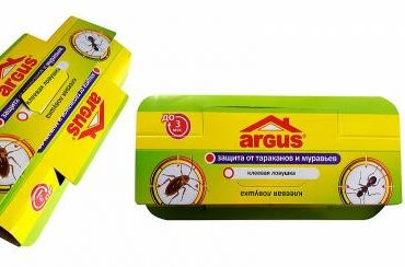 "Клеевая ловушка от тараканов и муравьев ""Argus"""