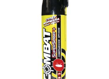 """Аэрозоль от насекомых """"Combat Super Spray Plus"""""""