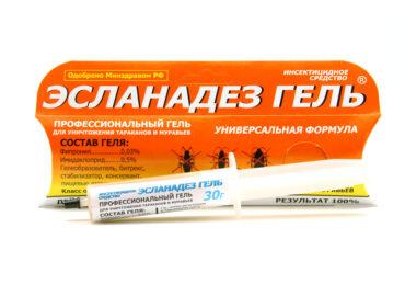 Гель от тараканов и муравьев «Эсланадез»